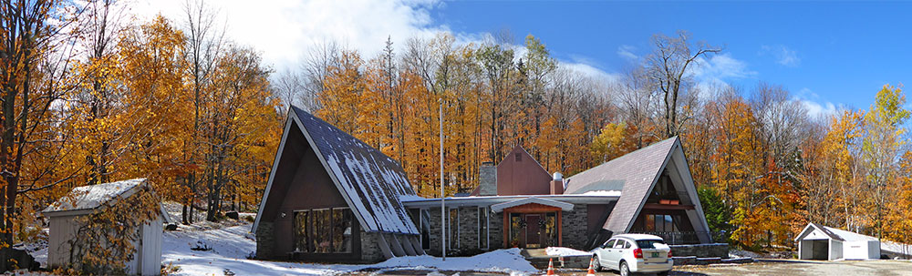 That was a very short Twig Season!  Or is Mother Nature just toying with us.  Last Fall Foliage Picture of 2016.  2 inches of snow covering the ground around the inn.  Follow the snow level this winter with Killingtonblogs SnowStake Gallery. - Sunday, October 23, 2016
