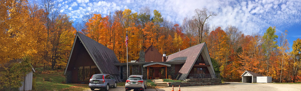 Birch Ridge Inn foliage