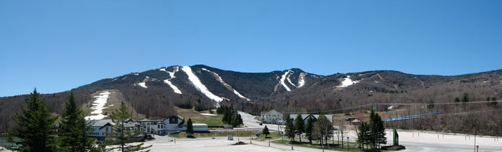 The basin area of the Killington Resort.