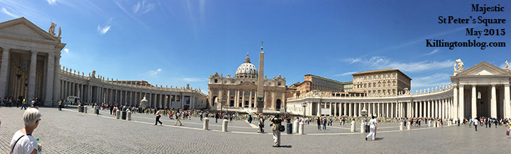 St Peters Square and St Peters Basilica