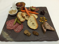 Charcuterie Plate at the Birch Ridge Inn