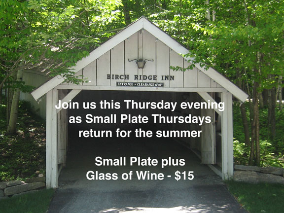 Small Plate Thursday returns
