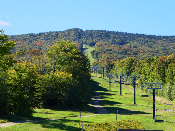 Colors showing on the Rams Head lift line, Sunday September 25, 2016