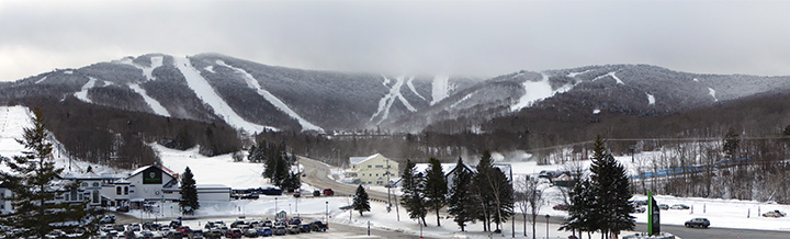 Killington Resort looking like mid-winter. Tuesday November 22, 2016