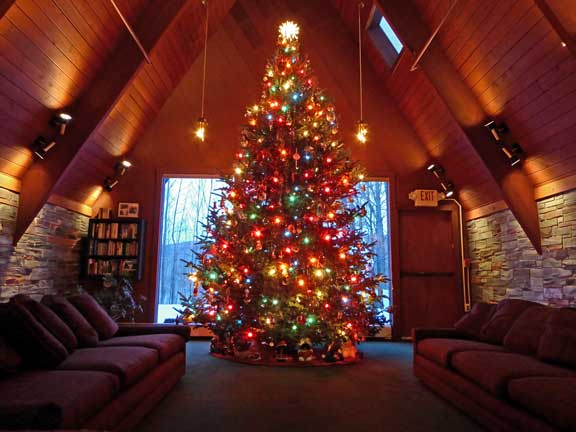 The Birch Ridge Inn 2016 Christmas Tree.