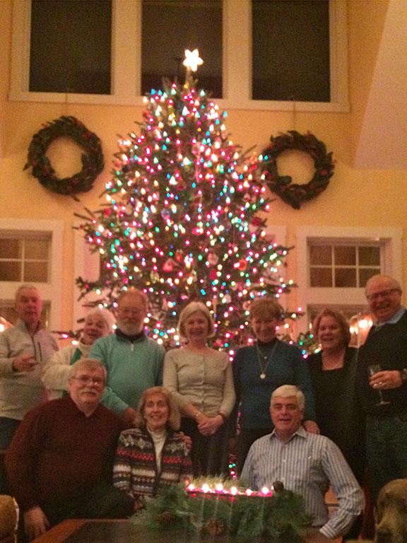 The Albert's Christmas Tree