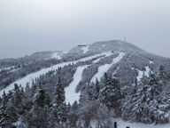 A dark and foreboding Killington Peak