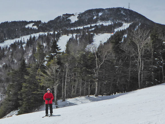 Skiing at Killington before yesterdays announcements.