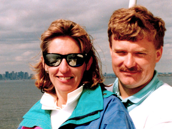 Bill and Mary in the summer of 1996... And we thought we were old then....
