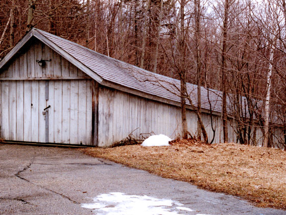 The original Snowshed which now call the Covered Carriageway.
