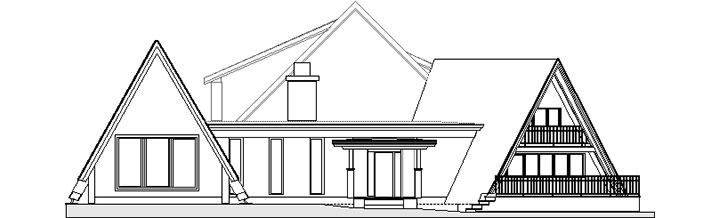 Original line drawing showing the birth of the Birch Ridge Inn