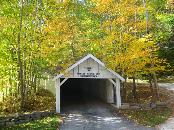 The Covered Carriageway this fall.