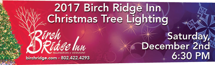 Birch Ridge Inn 2017 Christmas Tree Lighting