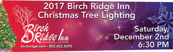 Birch Ridge Inn 2017 Christmas Tree Lighting
