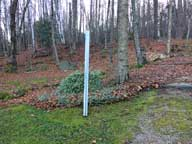 The Snow Stake at the Birch Ridge Inn - Prepped for winter