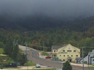 Dark clouds hide construction taking place at Killington Resort