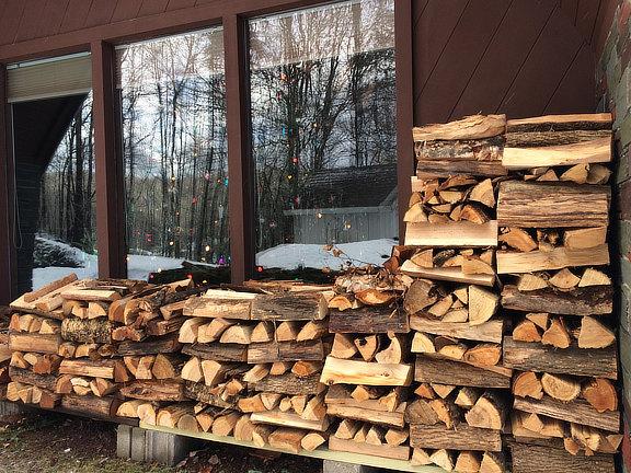 Christmas wood!