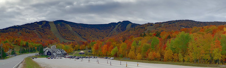 Beautiful colors at the Killington Resort, Friday, October 11, 2019.